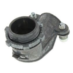 "3/8"" Zinc BX-Flex 90° Squeeze Connector Product Image"