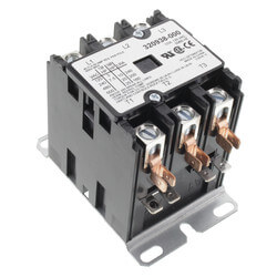 3 Pole Contactor, 50 Amp 120V Product Image