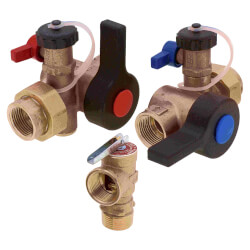 Lead Free Isolation Valve Kit, Includes PRV (TK-IV-01-AB) Product Image