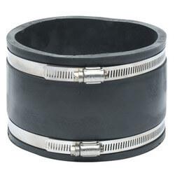 "4"" x 6"" Flexible Coupling (Concrete to Cast Iron, PVC, Copper, Steel, Lead) Product Image"