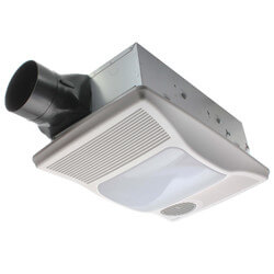 100HL Vent Fan with Directionally-Adj. Heater & Light, 100W Incand. Light Product Image