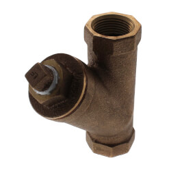 """3/4"""" Bronze Wye Strainer, Lead Free (Threaded) Product Image"""