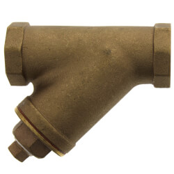 "1-1/4"" Bronze Wye Strainer, Lead Free (Threaded) Product Image"