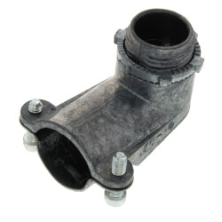 "1/2"" Zinc BX-Flex 90° Squeeze Connector Product Image"