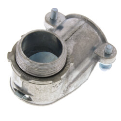 "3/4"" Zinc BX-Flex 90° Squeeze Connector Product Image"