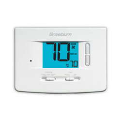 "Non-Programmable 1H/1C<br>Thermostat w/ 3"" Display Product Image"