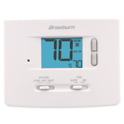 Single-Stage<br>Dual Powered Thermostat Product Image