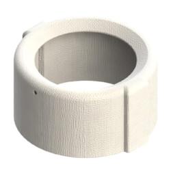 "Burner Head Protector for Beckett, Ceramic Fiber 2300F (4"" OD) Product Image"