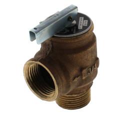 "3/4"" MNPT x 3/4"" FNPT RVW10 477,000 BTU Bronze Relief Valve (30 psi) Product Image"