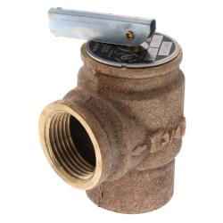 "3/4"" MNPT RVW10 532,000 BTU Bronze Relief Valve (35 psi) Product Image"