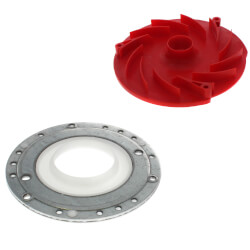 Blower Inlet Repair Kit (Includes Blower Adapter Plate, Swirlplate and Mounting Hardware) Product Image