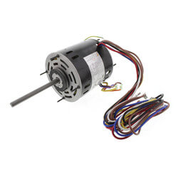 Multi-HP Direct Drive Furnace Blower Motor (1/5 to 3/4 HP, 115V, 1075 RPM) Product Image