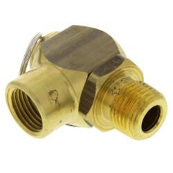 "1/2"" MNPT x 1/2"" FNPT RVS52 151 LBS/HR Steam Safety Relief Valve (15 psi) Product Image"