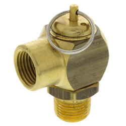 "1/2"" MNPT x 1/2"" FNPT RVS52 151 LBS/HR Steam Safety Relief Valve (15 psi) Product Image"