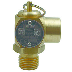"1/2"" MNPT x 1/2"" FNPT RVS52 232 LBS/HR Steam Safety Relief Valve (30 psi) Product Image"