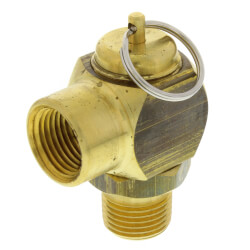 "1/2"" MNPT x 1/2"" FNPT RVS52 339 LBS/HR Steam Safety Relief Valve (50 psi) Product Image"