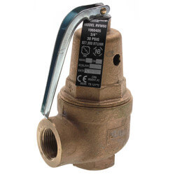 "3/4"" RVW60 827,000 BTU Capacity, Bronze Relief Valve (30 psi) Product Image"