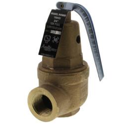 "3/4"" FNPT RVW60 2,639,000 BTU Bronze Relief Valve (125 psi) Product Image"