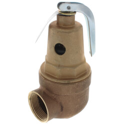 "1"" FNPT x 1-1/4"" FNPT RVW61 2,295,000 BTU Bronze Hot Water Relief Valve (50 psi) Product Image"