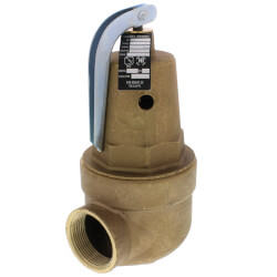 "1-1/4"" FNPT x 1-1/2"" FNPT RVW61 2,716,000 BTU Bronze Hot Water Relief Valve (30 psi) Product Image"