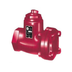 "S 2-1/2"" Sweat Iron Straight Flow Control Valve Product Image"