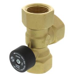 "1"" NPT Bronze HydroTrol Flow Control Valve Product Image"