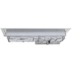 """2"""" x 10"""" (Wall Opening Size) Royalaire Floor Diffuser (531 Series) Product Image"""