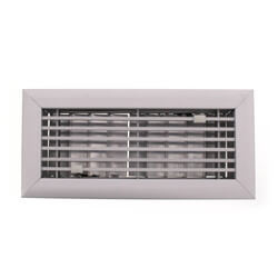 """4"""" x 10"""" (Wall Opening Size) Royalaire Floor Diffuser (531 Series) Product Image"""