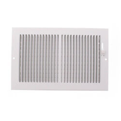 "10"" x 6"" White Baseboard Register (664 Series) Product Image"