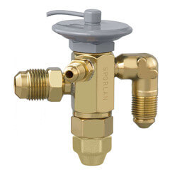 """FV-1/4-C 1/4"""" x 1/2"""" SAE Thermal Expansion Valve w/ 30"""" Capillary (1/4 Ton) Product Image"""