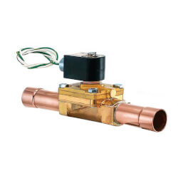 """5/8"""" ODF Normally Closed Secondary Coolant Valve (4 Cv) Product Image"""