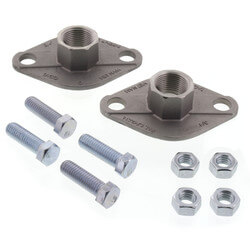 "3/4"" Taco Stainless Steel Freedom Flange (Pair) Product Image"