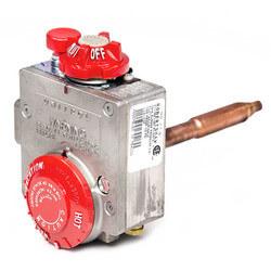 "Natural Gas Water Heater Valve Uni-Kit w/ 1-3/8"" Shank (88,000 BTU) Product Image"