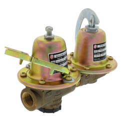 "F-3 Dual Unit Valve<br>w/ Fast Fill, 1/2"" NPT<br>Lead Free Product Image"