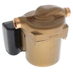 "Astro-225BS 1/2"" Sweat<br>3-Speed Bronze Circulator, 0-9 GPM Flow Product Image"