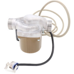 "Astro 220SSU050S-TA (1/2"" Swt) SS Re-circulator Pump w/ Timer & Aquastat, 0-9 GPM Product Image"