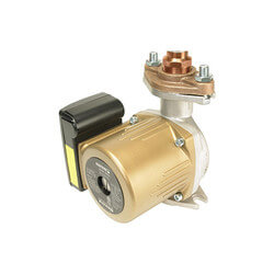 "Astro 220SSU050S-T (1/2"" Sweat) SS Re-circulator Pump w/ Timer, 0-9 GPM Product Image"