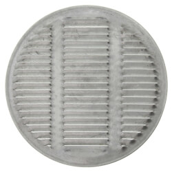 Lambro Industries 164W 4//6 White Plastic Double Sided Under Eave Vent by Lambro