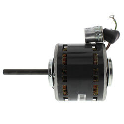 "5"" Single Shaft PSC Direct Drive Fan Motor (115V, 1/5 HP 1050 RPM) Product Image"