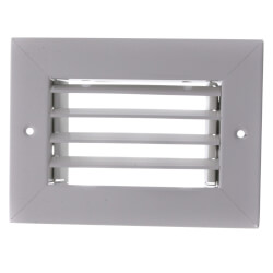 "6"" x 4"" (Wall Opening Size) Steel Return Grille (94A Series) Product Image"