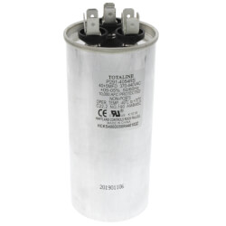 5+40 MFD Round Run Capacitor (440V) Product Image