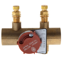 "1"" Sweat CB-1S Circuit Setter Balance Valve<br>Lead Free Product Image"