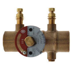 "1-1/4"" Sweat CB-1 1/4S Circuit Setter Balance Valve, Lead Free Product Image"