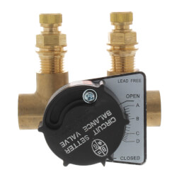 "RF-1/2S Circuit Setter Balance Valve, 1/2"" (Sweat) Product Image"