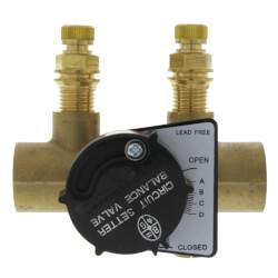 "RF-3/4S Circuit Setter Balance Valve, 3/4"" (Sweat) Product Image"