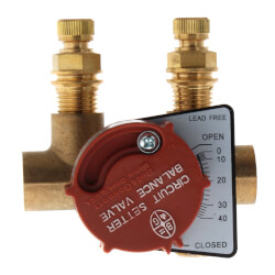 "1/2"" Sweat CB-1/2S Circuit Setter Balance Valve<br>Lead Free Product Image"