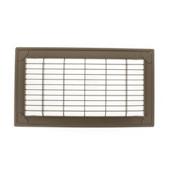 "4"" x 10"" (Wall Opening Size) Golden Sand Floor Return Air Grille (265 Series) Product Image"