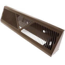"18"" Golden Sand Baseboard Return Air Grille (407 Series) Product Image"