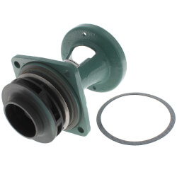 Bronze Fitted Bracket Assembly for Taco 120 Circulator Pump Product Image