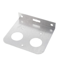 "1/2"", 3/4"", 1"" Galvanized Steel Dual Pipe Bracket Product Image"